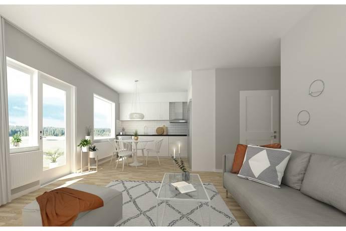 adc977d45c48 Bild: 2 rum bostadsrätt på Golfbanevägen, Örebro kommun Södra Ladugårdsängen