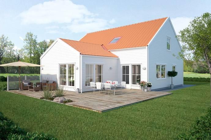 Bild: 6 rum villa på Arboretumgatan 18, Varbergs kommun Träslöv