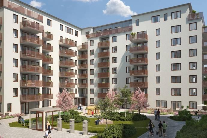 Bild: 3 rum bostadsrätt på Grindtorps Skolgränd 34, 6tr, Täby kommun Täby Centrum