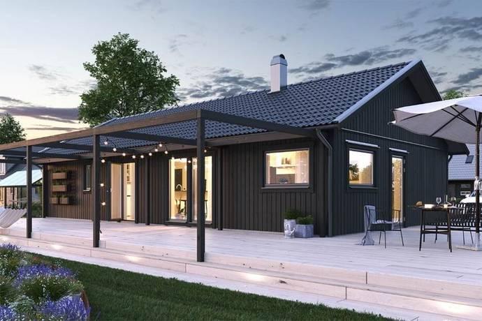 Bild: 4 rum villa på Lästringe Allé, Nyköpings kommun