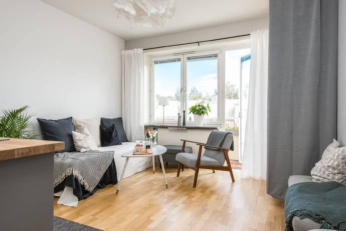 Bild: 1 rum bostadsrätt på Norrtullsgatan 4B, Gävle kommun Centralt / Norr