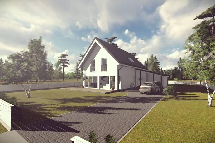 Bild: 5 rum villa på Klövervägen 4 o 6, Grums kommun Gamla Slottsbron