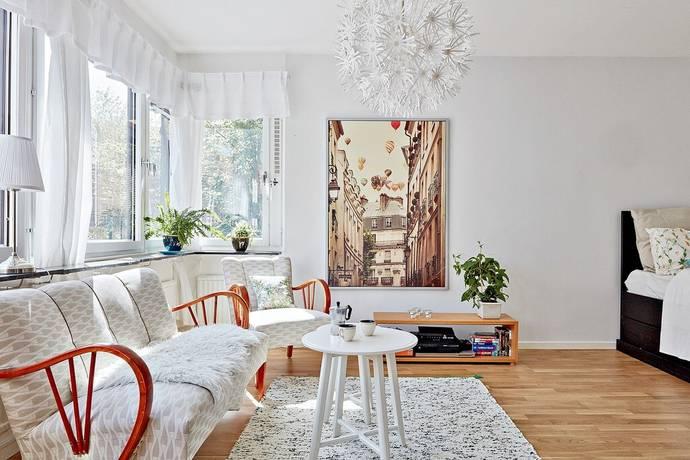 Bild: 1 rum bostadsrätt på Vattugatan 5, Göteborgs kommun Masthugget