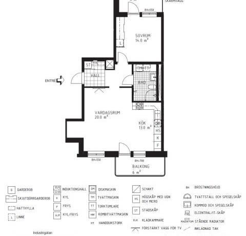 Bild: 2 rum bostadsrätt på BRF ÅSIKTEN SÖDRA 3 (3-2304), Uppsala kommun