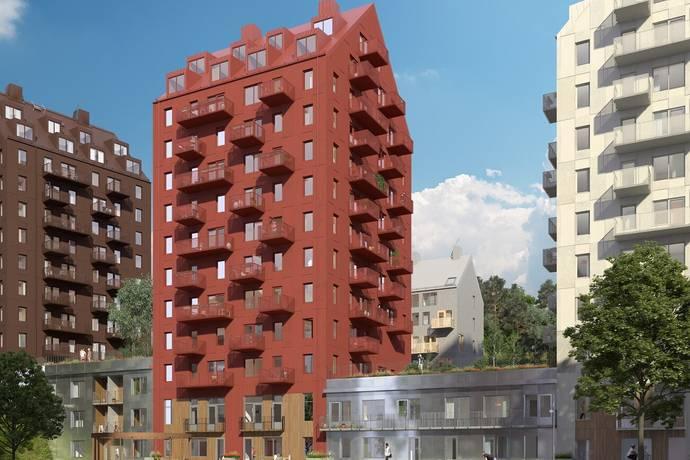 Bild: 3 rum bostadsrätt på Lagmansbacken 9, Botkyrka kommun Alby