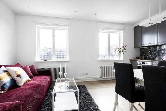 Bild: 2 rum bostadsrätt på Valborgsmässovägen 21, Stockholms kommun Midsommarkransen/Telefonplan