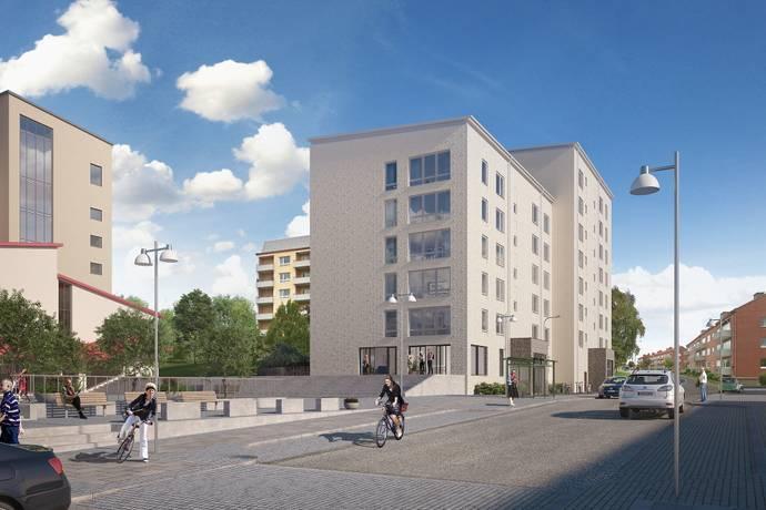 Bild: 2 rum bostadsrätt på Antenngatan 5, Göteborgs kommun Västra Frölunda