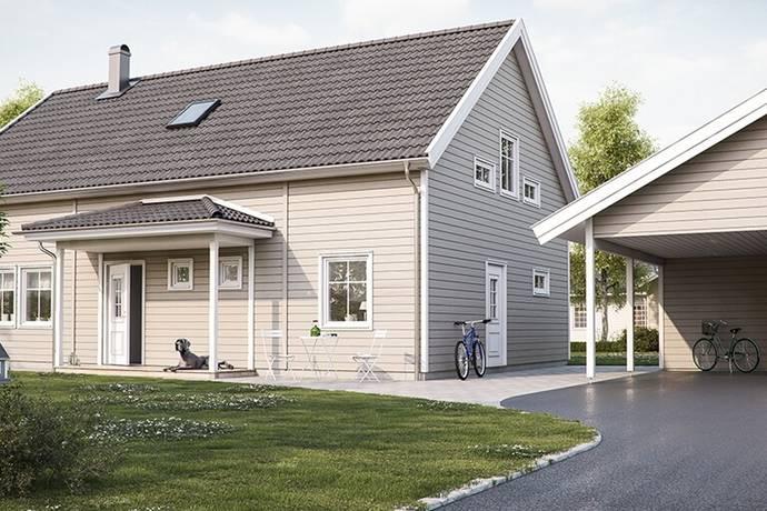 Bild: 5 rum villa på Movägen 21, Älvkarleby kommun Nybogård