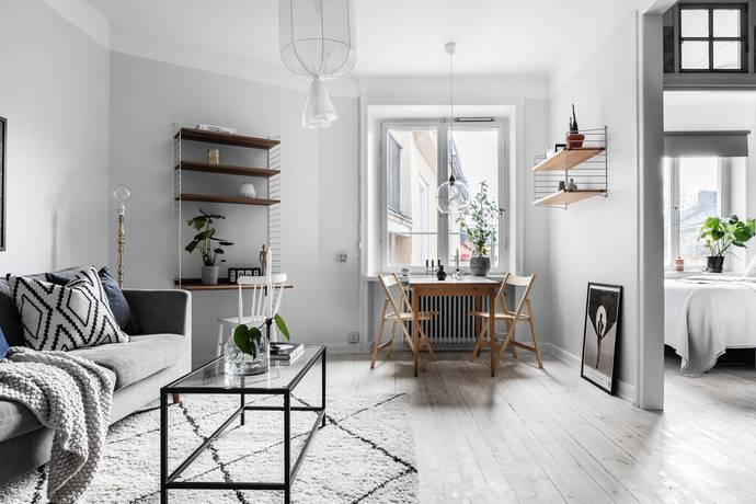 Bild: 2 rum bostadsrätt på Åsögatan 196, Stockholms kommun Södermalm