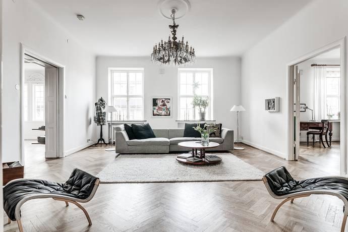 Bild: 5 rum bostadsrätt på Engelbrektsgatan 35, Göteborgs kommun Lorensberg