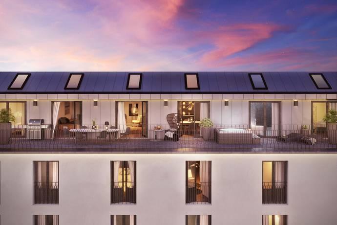 Bild: 3 rum bostadsrätt på Högbergsgatan 62, 7 tr (7003), Stockholms kommun Södermalm