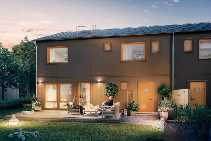 Bild: 5 rum radhus på Högövägen, Hus 2, Växjö kommun