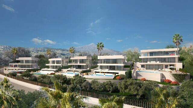 Bild: 5 rum villa på Villa i Nueva Andalucía, Málaga, Spanien Nueva Andalucía