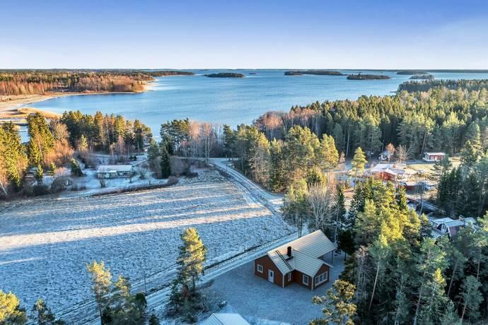 Bild: tomt på Östra Sundviksvägen 5B, Österåkers kommun Ljusterö/Åsättra
