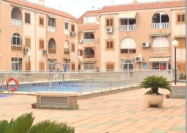 Bild: 3 rum bostadsrätt på Trerumslägenhet fem minuter från stranden, Spanien Costa Blanca Söder