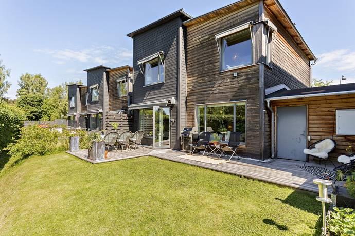 Bild: 5 rum radhus på Vildapelvägen 6, Stockholms kommun Enskededalen - Pungpinan