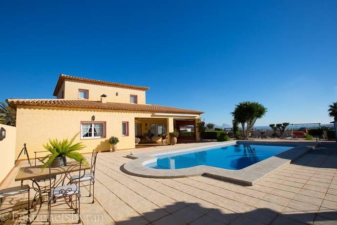 Bild: 7 rum villa på Fantastisk Villa med havsutsikt!, Spanien Altea | Costa Blanca