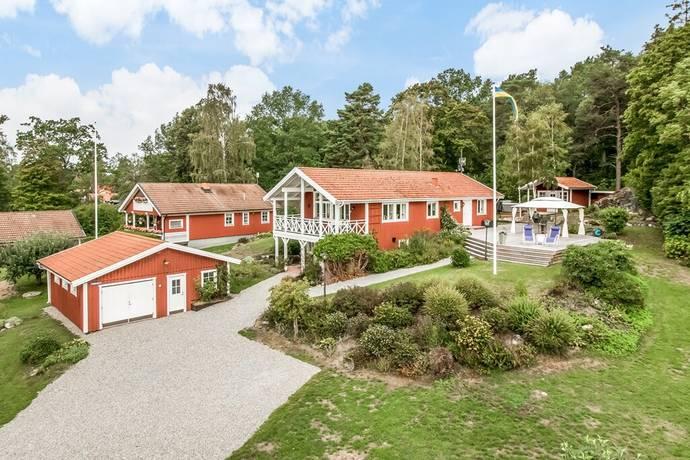 tidö lindö karta Lindskärsvägen 29 i Tidö Lindö, Västerås   Friliggande villa till  tidö lindö karta