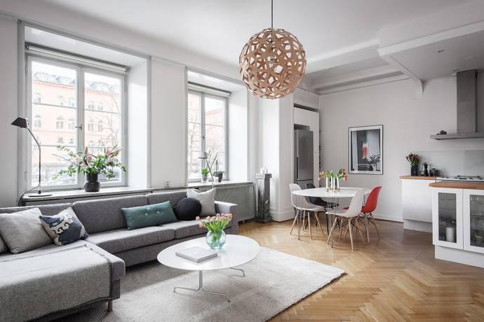Bild: 2,5 rum bostadsrätt på Linnégatan 86, Stockholms kommun Östermalm