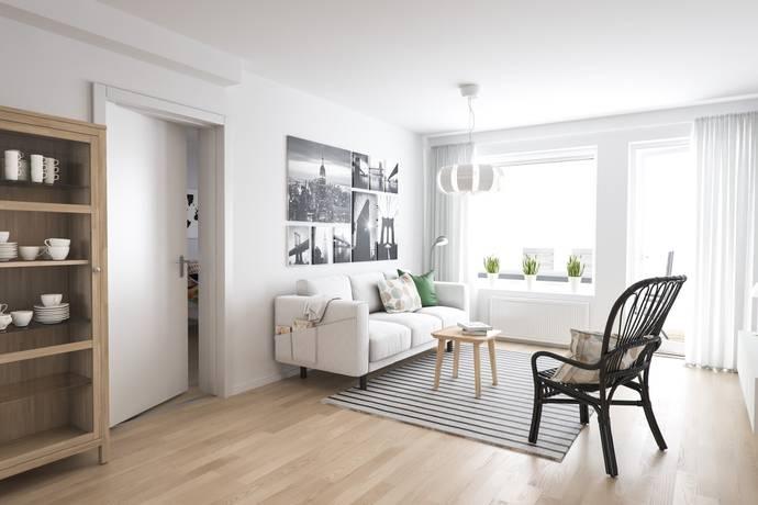 Bild: 2 rum bostadsrätt, Ulricehamns kommun Stadsskogen