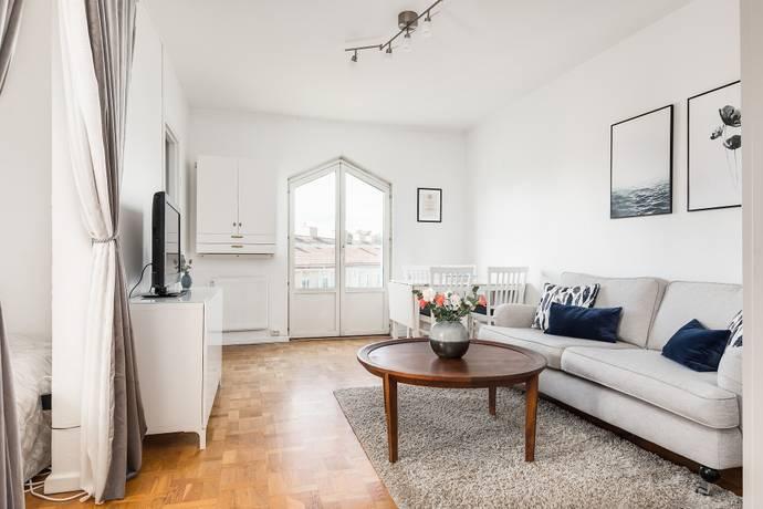 Bild: 1,5 rum bostadsrätt på Bragegatan 13, Sundsvalls kommun Haga