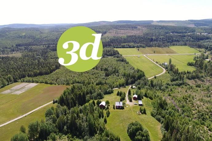 Bild: gård/skog på Mosjö 170, Örnsköldsviks kommun