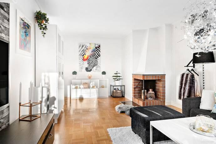 Bild: 3 rum bostadsrätt på Brynäsgränd 1C, Gävle kommun Brynäs