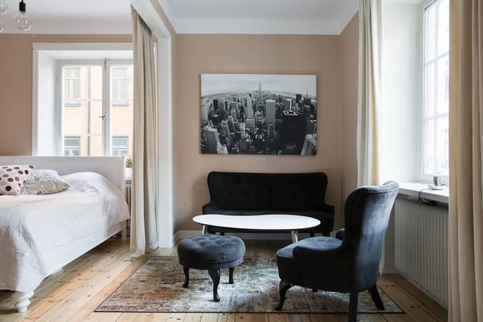 Bild: 1 rum bostadsrätt på Birger Jarlsgatan 104 I, Stockholms kommun Vasastan
