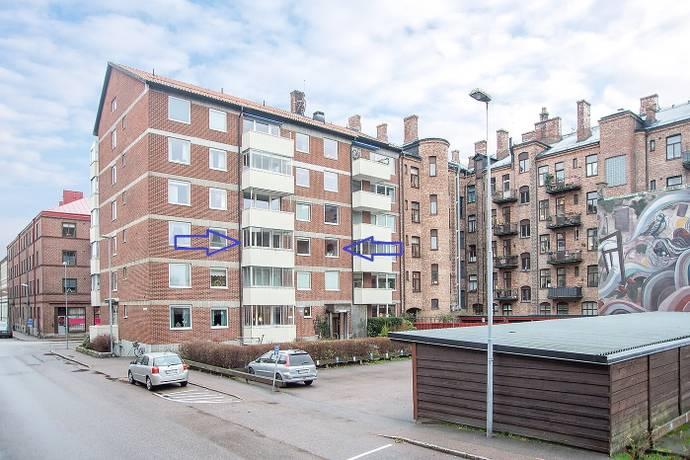 Bild: 2 rum bostadsrätt på Stenvinkelsgatan 15, Halmstads kommun