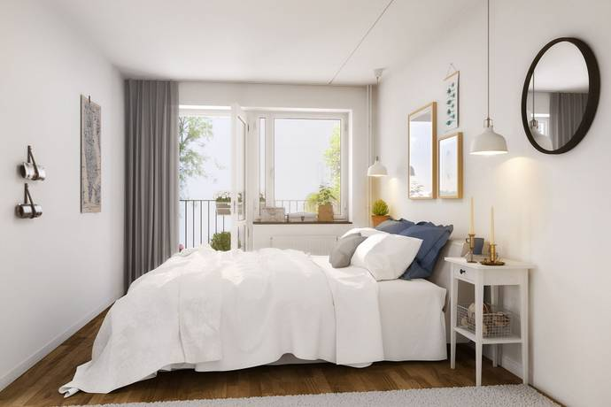 Bild: 3 rum bostadsrätt på Råbyvägen 57 C, Uppsala kommun Gränby
