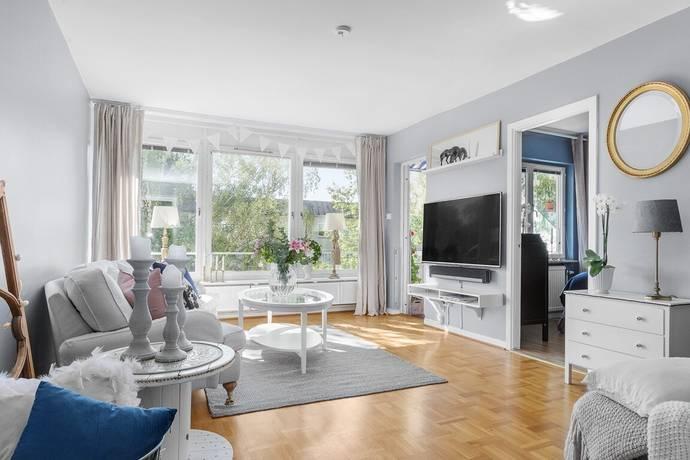 Bild: 3 rum bostadsrätt på Mirabellbacken 26, Vån 0.5, Stockholms kommun Hässelby Strand