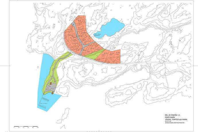 Bild: tomt på Utskärsvägen 59, Gävle kommun Eskön - Esköhamn