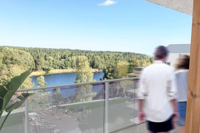 Bild: 2 rum bostadsrätt på Skogsbovägen 21 Hus 1 lgh 162, Värmdö kommun Gustavsberg - Ösby Sjöpark