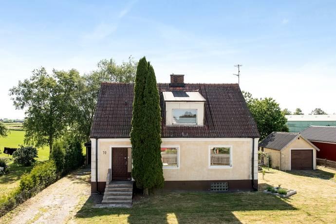 Bild: 4 rum villa på Onslundavägen 32, Tomelilla kommun Spjutstorp