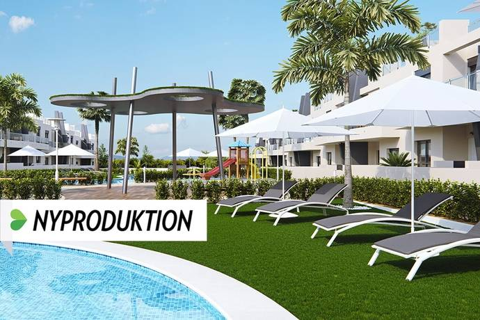 Bild: 3 rum bostadsrätt på Nya strandnära markplanslägenheter, Spanien Torrevieja Söder - Mil Palmeras