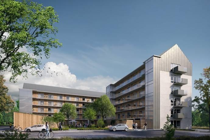 Bild: 3 rum bostadsrätt på Kubikvägen 1, Täby kommun Hägerneholm