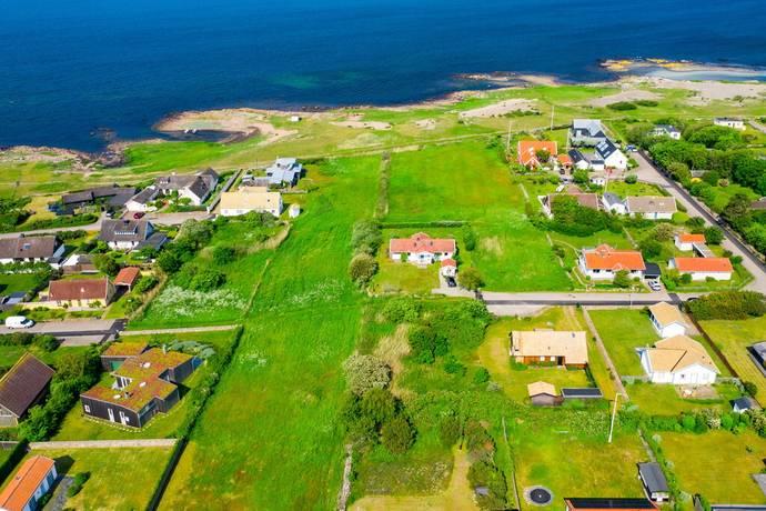 Bild: tomt på Tullaregatan 8, Båstads kommun Centralt
