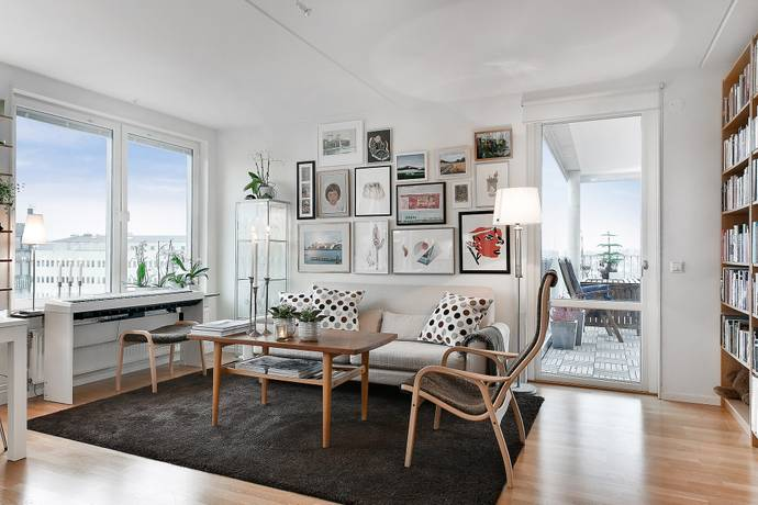 Bild: 2 rum bostadsrätt på Mariehällsvägen 4, Stockholms kommun Bromma Mariehäll