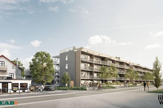 Bild från Visby - Söder - Missa inte chansen att köpa bostadsrätt i Visbys häftigaste projekt. Fast pris, ingen handpenning.