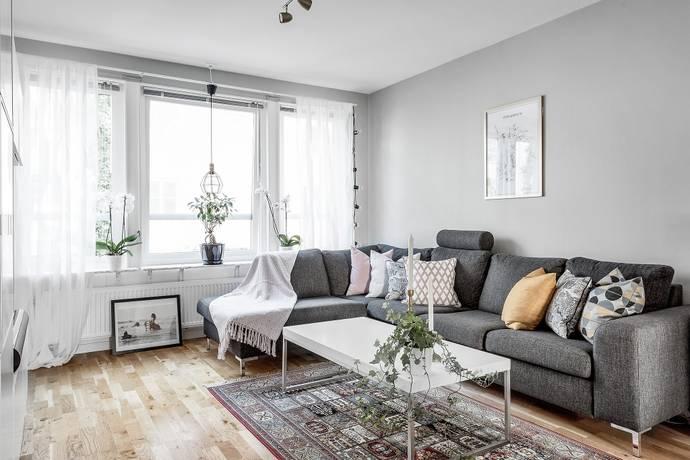 Bild: 2 rum bostadsrätt på Mauritz Stillers väg 3, Solna kommun Gamla Filmstaden/Råsunda