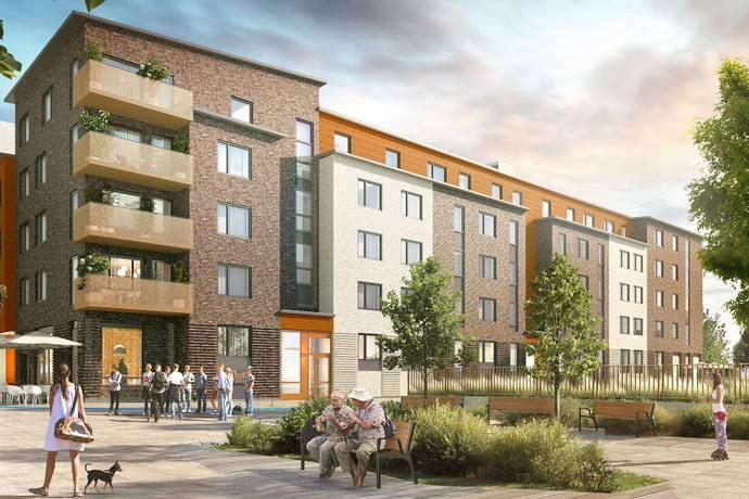 Bild: 5 rum bostadsrätt på Forsgränd 2, Upplands Väsby kommun Centralt Upplands Väsby