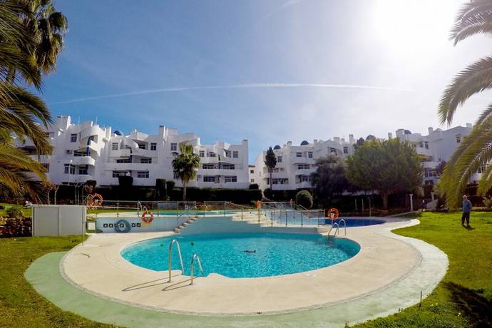 Bild: 3 rum bostadsrätt på Mysig lägenhet i god förening med närhet till stranden., Spanien Mijas Costa - Calahonda