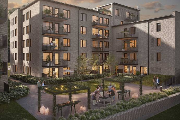 Bild: 3 rum bostadsrätt på Fridtunagatan 10, Linköpings kommun Valla