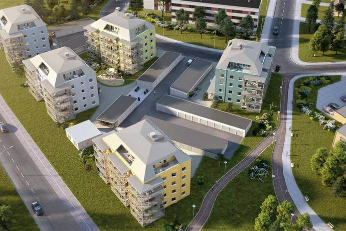 Bild: 2 rum bostadsrätt på Södra Karlgård lgh 422, Skellefteå kommun Södra Karlgård