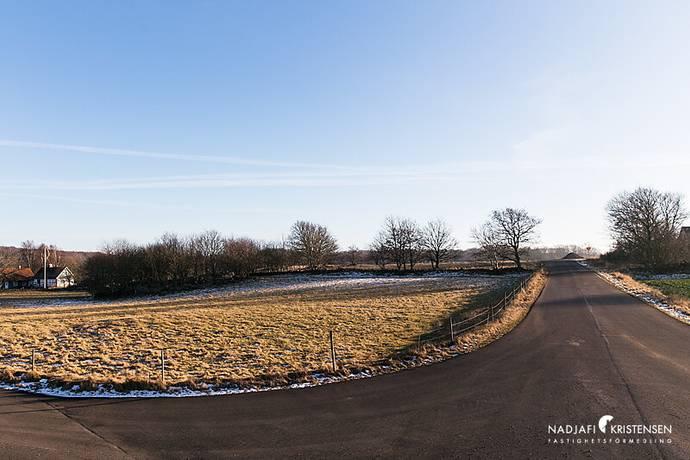 Bild: tomt på Plantahagsvägen 8, Båstads kommun Torekov