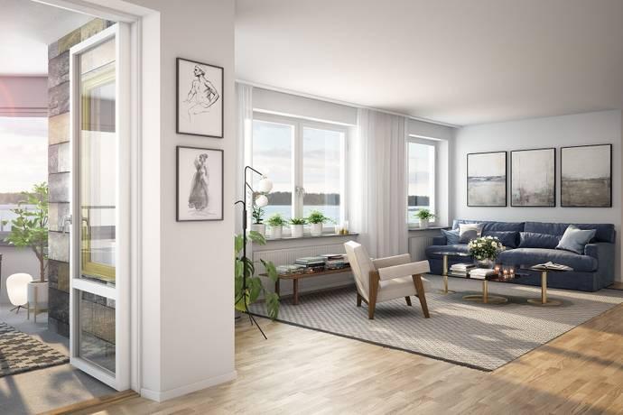 Bild: 4 rum bostadsrätt på Prismastigen 6, Lidingö kommun Dalénum