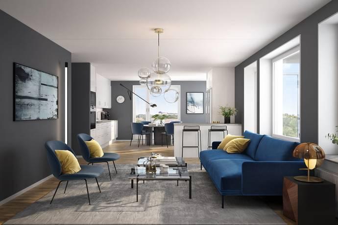 Bild: 2 rum bostadsrätt på Otto Myrbergs väg 2D, Uppsala kommun Rickomberga