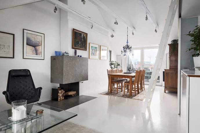 Bild: 4 rum bostadsrätt på Tomtebogatan 32,  5-6 tr, Stockholms kommun Vasastan