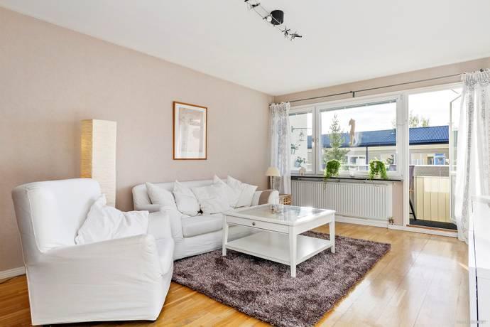 Bild: 3 rum bostadsrätt på Wivalliusgatan 9, Uppsala kommun Nyby