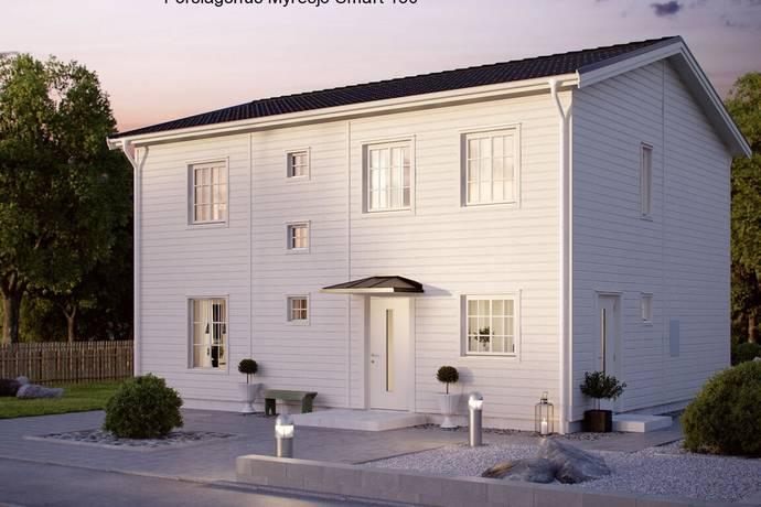 Bild: tomt på Centrumvägen 15, Norrköpings kommun